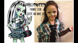 frankie stein make up and outfit
