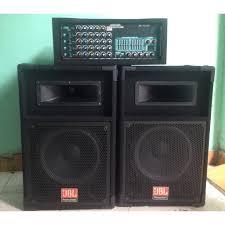 Dàn âm thanh, hát karaoke loa sân khấu JBL Amply Jarguar 16 sò chơi ngoài  trời - MuaZii