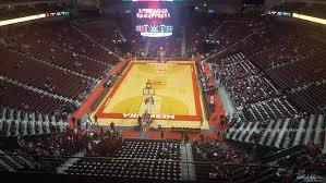 Pinnacle Bank Arena Lincoln Ne Seating Chart Pinnacle Bank Arena Section 211 Nebraska Basketball