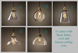 shade pendant lighting. new modern vintage industrial retro loft glass ceiling lamp shade pendant light shade pendant lighting