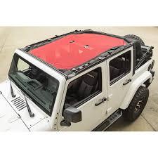 eclipse sun shade red 07 18 jeep wrangler jku 4 door video