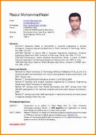 Skills Based Resume Example Best Of English Resume Format English Cv