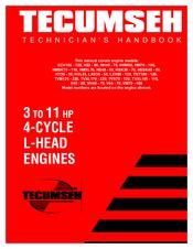 Tecumseh HSK70 Manuals