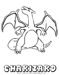 Small Picture Charizard Coloring Pages Pinterest