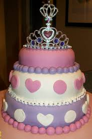 Girl Princess Birthday Cake Designs 3 Year Old Girls Birthday Cake