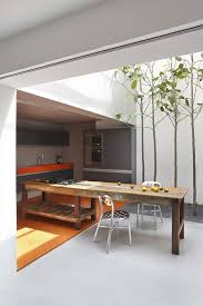 When Weather Conditions Allow You Could Combine Your Indoor And Courtyard  Kitchen For Better Eating Experience