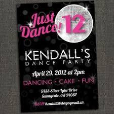 Dance Invitation Ideas Free Dance Party Invitations Girl Birthday Ideas Dance Party