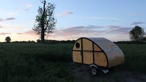 Diy travel trailer Cargo Trailer The Sprig Out In The Wild Photo Courtesy Of Kickstarter Pinterest Diy Camper Kits Are The Affordable Way To Own Teardrop Trailer
