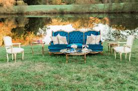 Outdoor wedding furniture Mismatched Outdoor Wedding Lounge Vintage Weddingwire 12 Ways To Bring The Indoors Out At Your Wedding Weddingwire