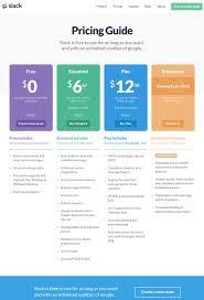 table chart design inspiration. Wonderful Design Slackpricingpagepng In Table Chart Design Inspiration