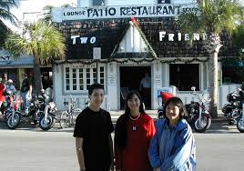 ty michele and kay travis at the two friends patio restaurant in key west on december 26 2002 we ve eaten lunch there every time we ve visited key west