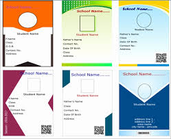 photo card maker templates teacher business card template free best of id card software
