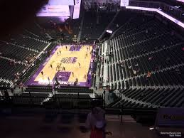 Golden 1 Center Basketball Seating Chart Golden 1 Center Section 211 Sacramento Kings