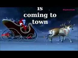 Michael Jackson Christmas song Santa Claus is coming to town with ...