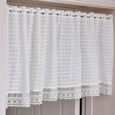 Eyelet Kitchen Curtains