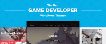 The 8 Best Wordpress Themes For Game Developers In 2018