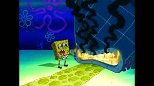 why did you set me on fire spongebob