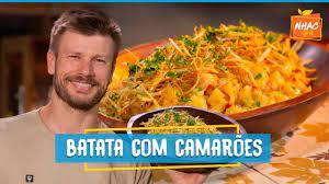 🍤 Salada de batata com camarão   Rodrigo Hilbert   Tempero de Família -  YouTube