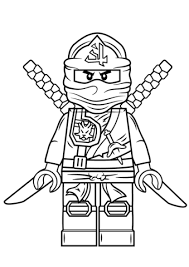 Small Picture Lego Ninjago Green Ninja coloring page Free Printable Coloring Pages