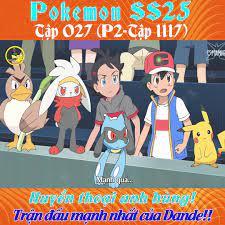 Xem Phim 24H - Pokemon Tập 1100☆ (SS25 Tập 010) - Thiên đường của Kairyu,  thử thách của Hakuryu ☆