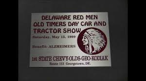 First State Chevy Delaware Red Men's Car & Tractor Show - YouTube