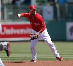 Dustin Pedroia plays inning in 1st game since May