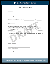 how to write a rent increase notice rent increase notices gse bookbinder co