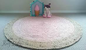 round pink rug. Polo Pink Jute Round Rug