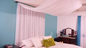 Diy Bed Canopy Diy Canopy Easy Inexpensive Youtube