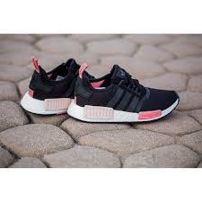 adidas shoes nmd womens black. adidas nmd_r1 runner w \u0027core black/peach pink\u0027 shoes nmd womens black d