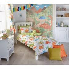 childrens dinosaur designed bed linen