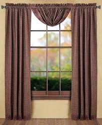 Americana Kitchen Curtains