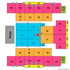 Turning Stone Casino Seating Chart Tickets Boxing