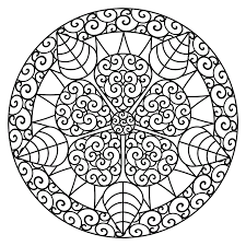 The early bird catches the worm! Free Printable Abstract Coloring Pages For Kids