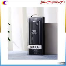 PIN SẠC DỰ PHÒNG 10000mAh REMAX RPP 155 CÓ ĐÈN LED SẠC NHANH - Pin sạc dự  phòng di động Nhãn hàng Remax