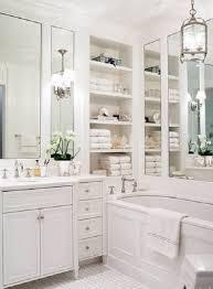 Bathroom Cabinets Next Inspirational Bathroom Organization Idea Using Wrought Iron Racks