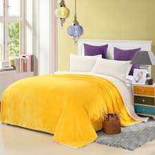 Solid Color Throw Blankets