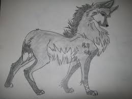 white wolf drawing anime. Plain White Anime Wolves Images My Drawing HD Wallpaper And Background Photos On White Wolf S
