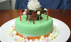 Campfire Birthday Cake Kidspot