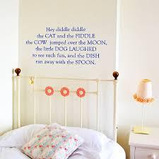 nursery rhyme wall stickers on wall art decal nursery with nursery rhyme wall stickers by leonora hammond notonthehighstreet
