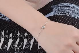 LUKENI Cute Crystal Round Female Bracelets Jewelry Top Quality ...