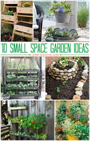 Small Picture 10 Small Space Garden Ideas And Inspiration Small spaces Garden