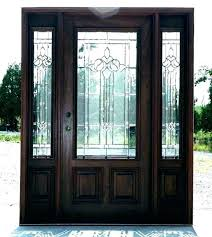 glass entry door inserts oval suppliers for front frosted black panel exterior doors