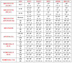 Full Body Measurement Chart Body Wrappers Microtech Full Body Unitard Bwpmt217 Body Wrappers