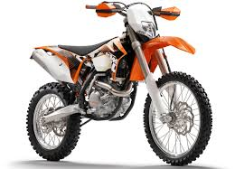2011 ktm enduro range dirt bike rider