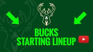 Milwaukee Bucks Depth Chart 2019 20 Milwaukee Bucks Starting Lineup Updated Live