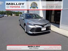 toyota new camry 2018. beautiful new new 2018 toyota camry le sedan in winchester va throughout toyota new camry