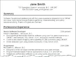 Summary On Resume Professional Summary Resume For Students Skills