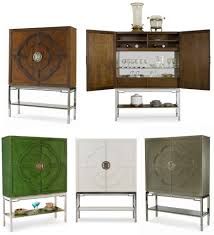 Lotus Bar Cabinet by Century Furniture Bar Cabinet