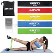 Stretch Band Loops Exercise Chart Resistance Loop Bands Exercise Bands Fitness Bands Set